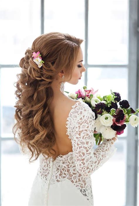20 gorgeous wedding hairstyles for a summer wedding