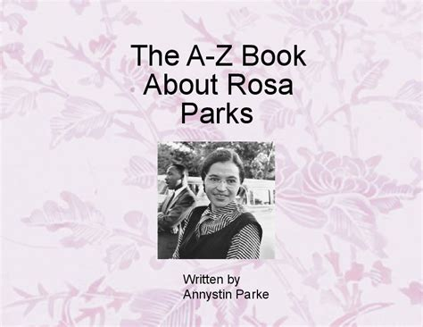biography book about rosa parks abc book about rosa parks book 366539 bookemon