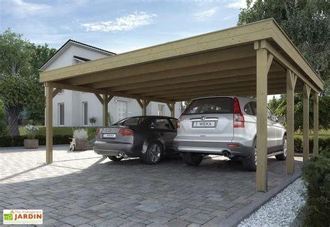 carport lärche bausatz carport master duo xl 6x6 abri garage master duo xl weka