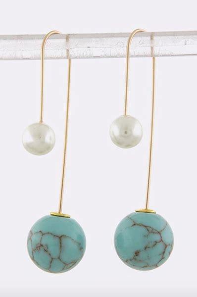 Sided Earrings sided dangle earrings