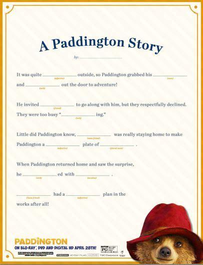 8 Free Paddington Bear Printables Station Coloring Page