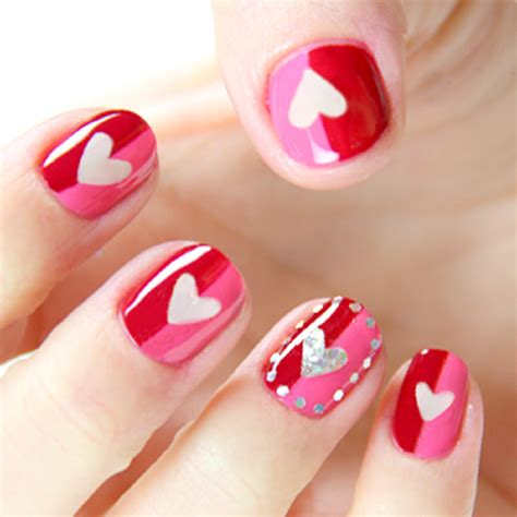 day nail pictures 40 valentines day nails designs for 2018
