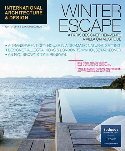 architecture design magazine international architecture design magazine winter 2013