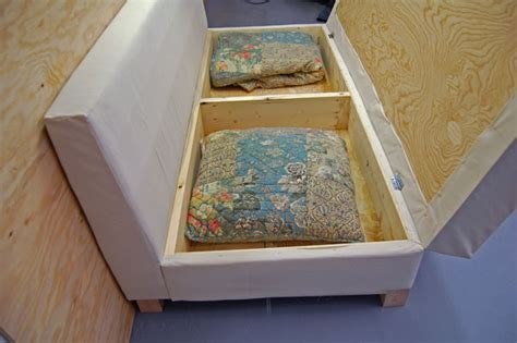 Diy Storage Sofa by How To Create Your Own Storage Compartment Sofa Did Ya See