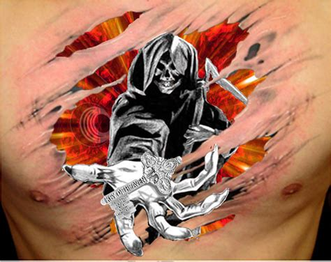 quick tattoo designs wakyati design reaper tattoos