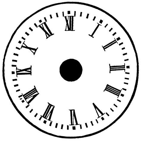 printable star clock blank clock template printable activity shelter