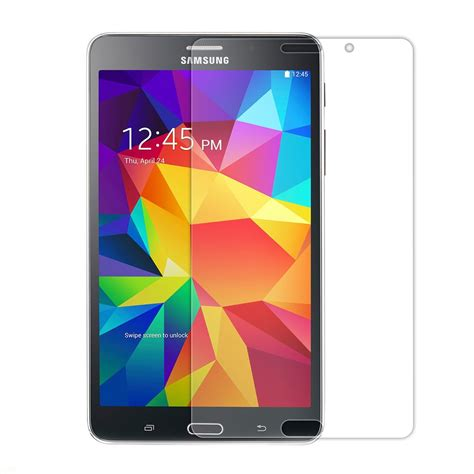 Tempered Glass Tab Universal 7 0 Inch samsung galaxy tab 4 7 0 tempered glass screen protector pdair