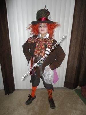 In Handmade Costume - mad hatter costumes 3