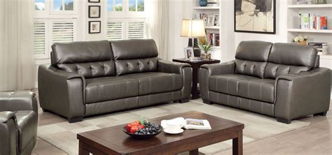 dark grey living room furniture randa dark gray living room set cm6797 sf furniture of