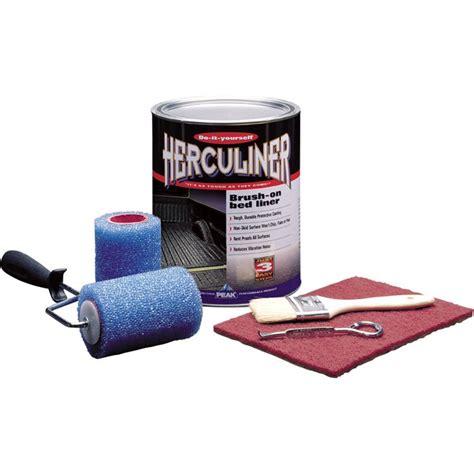 truck bed liner kit herculiner truck bed liner kit black northern tool