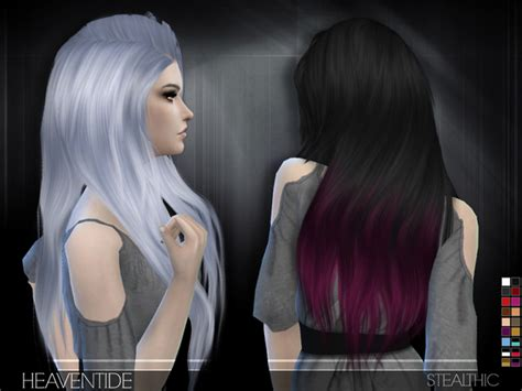vanity female hair by stealthic at tsr sims 4 updates heaventide female hair by stealthic at tsr 187 sims 4 updates