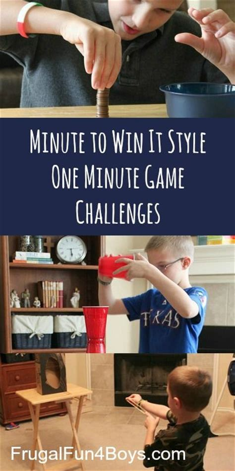 minute to win it challenges family minute to win it one minute challenges