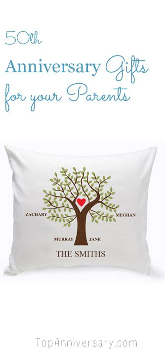 Golden Wedding Anniversary Gift Ideas For Parents by Best 50th Wedding Anniversary Gift Ideas For Your Parents