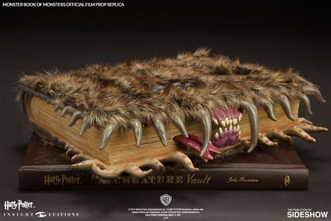 the of harry potter books harry potter the book of monsters official
