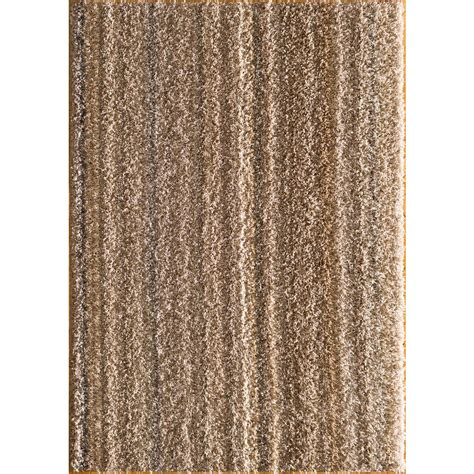Natco Rugs by Natco Upcycle Shag Earth 5 Ft X 7 Ft Area Rug Upc507 55