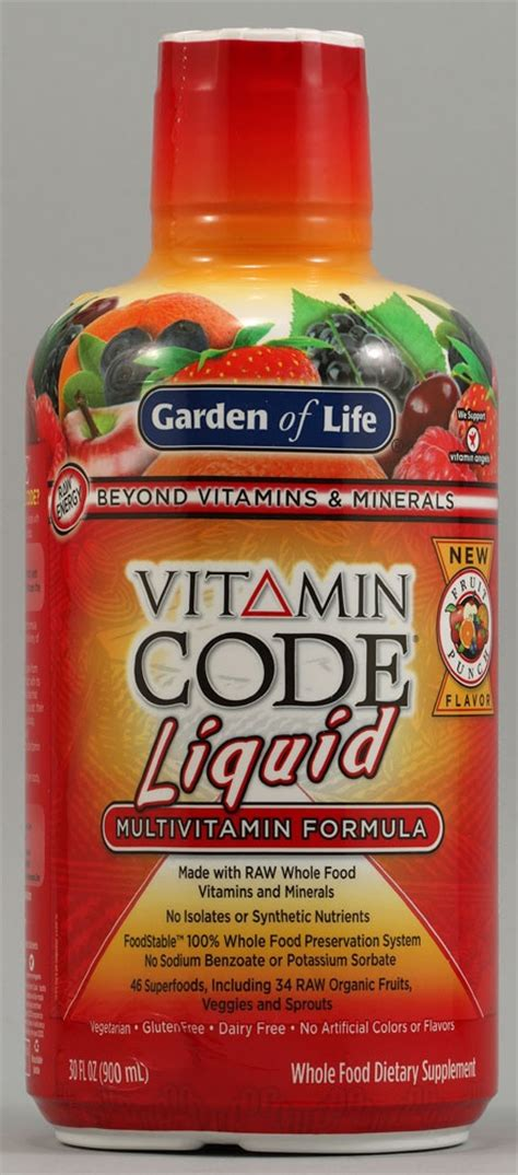 Garden Of Liquid Multivitamin Reviews 17 Best Images About Vitamins And Supplements On