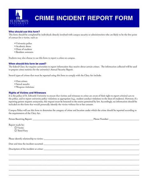 Homicide Report Template Best Photos Of Crime Report Blank Form Blank