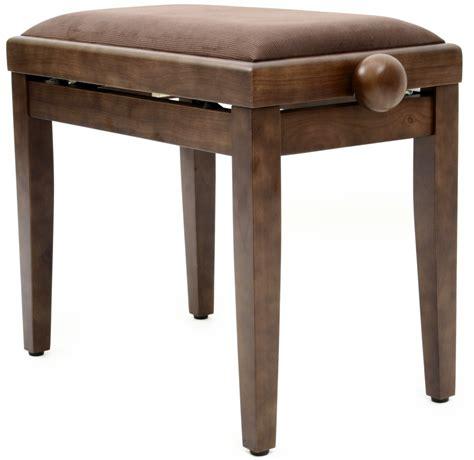 walnut piano bench gewa 900565 piano bench walnut matt