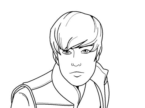 justin bieber coloring pages coloring pages to print