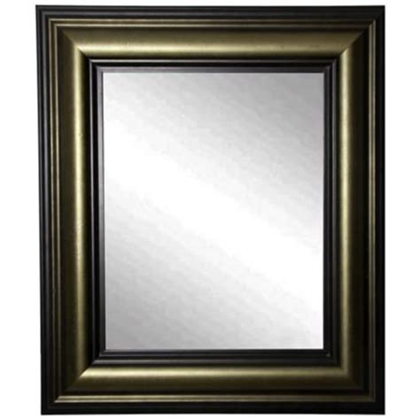 Ls Plus Wall Mirrors by Glendford Bronze Antiqued Stepped 30 Quot X 36 Quot Wall Mirror