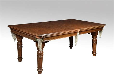 Snooker Dining Tables E J Of Accrinton Snooker Dining Table At 1stdibs
