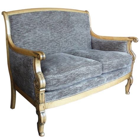 canape bergere canap 233 berg 232 re pichon style restauration louis philippe