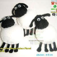 Lemari Plastik Shaun The Sheep Kunci souvenir tempat pensil bahan flanel souvenir pernikahan