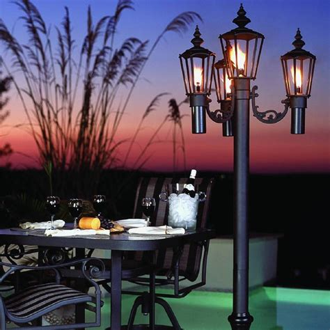 Patio Lantern Lights Islander Citronella Patio Lantern 00340