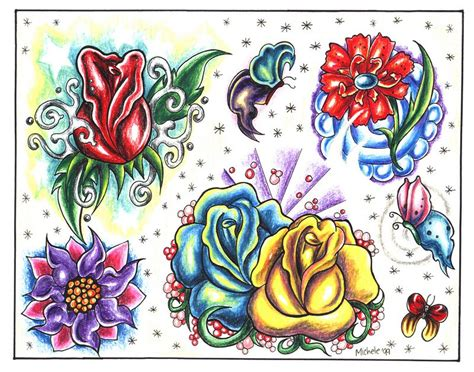 free tattoo flash designs
