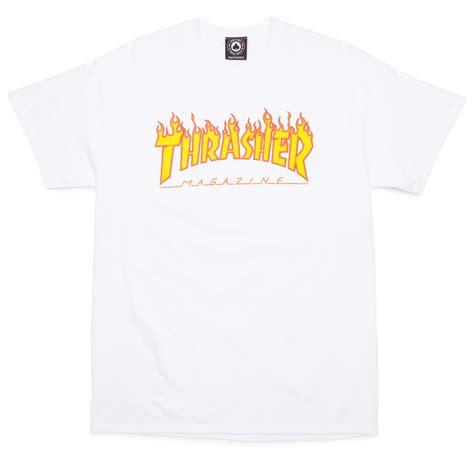 thrasher t shirt black