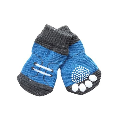 paws sneaker 4pcs set small pet sneakers shoe pattern non slip
