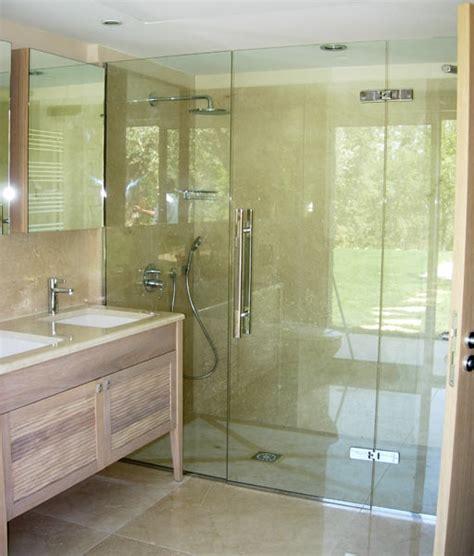 paroie sur mesure sablart salle de bain