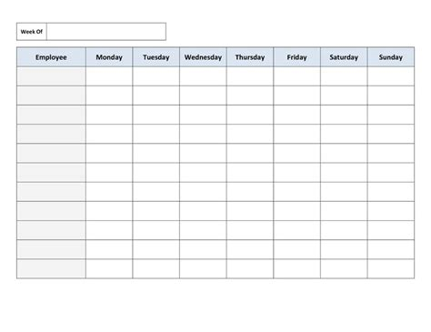daily rota template best 25 schedule templates ideas on cleaning