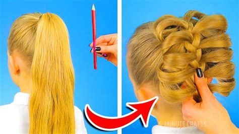 hairstyles for school games 12 cute hairstyles to be ready in one minute 5 minute