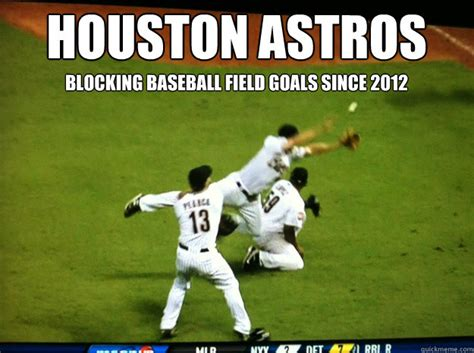 Funny Baseball Memes - houston astros a depressing comedy of errors memes quickmeme