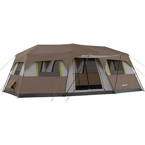 10 room tent walmart ozark trail 10 person 3 room instant from walmart