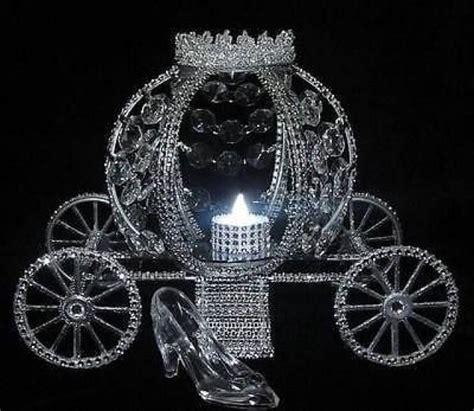 cinderella wedding lite carriage coach centerpiece