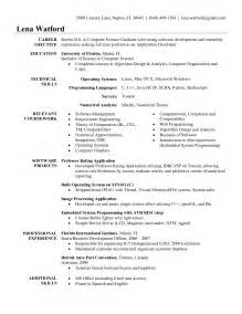 Sle Resume For Software Test Engineer With Experience by Software Engineer Resume Sles Software Engineer Resume