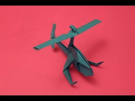 Make A Paper Helicopter - how to make a cool paper helicopter origami