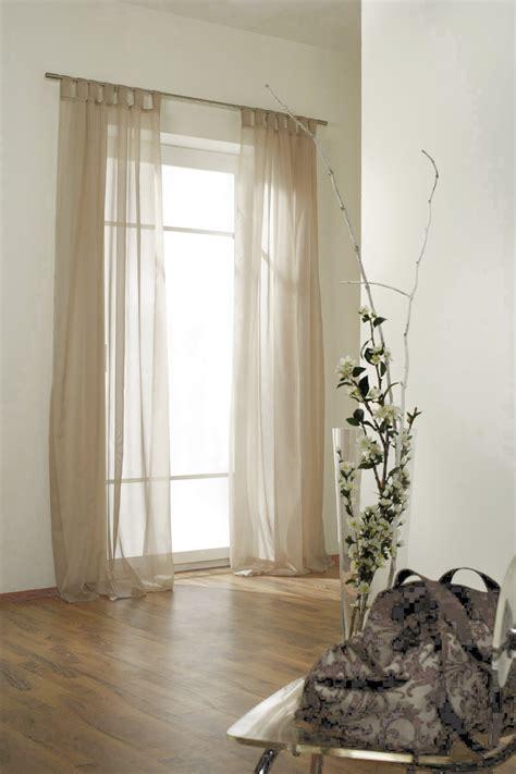 transparente gardinen schlaufenschal gardine transparent verschiedene farben ebay