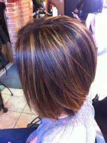 brown highlited bob haircuts 40 best bob hair color ideas bob hairstyles 2017 short