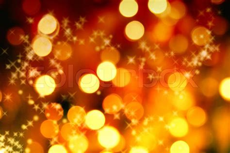 wallpaper christmas orange abstract background of christmas orange lights stock