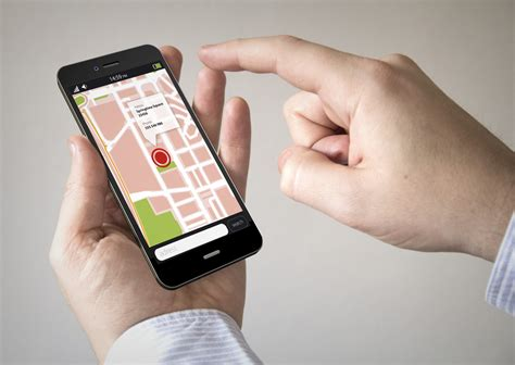on mobile on apps for gps tracking on cell phones