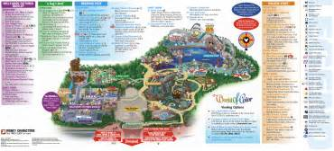 printable map of disneyland california disney california map