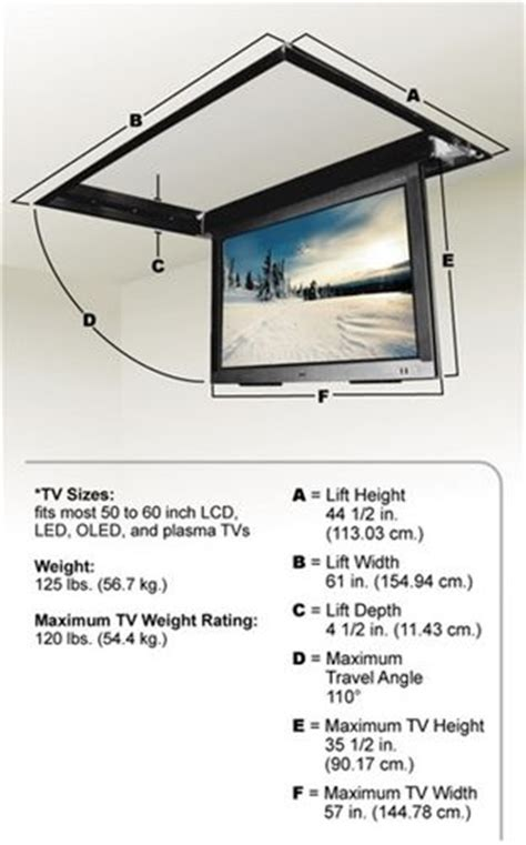ceiling drop tv mount best 25 tv mounting ideas on tv wall mount