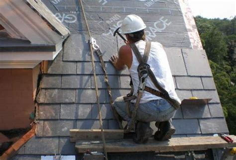 How To Install A Cupola How To Repairing Slate Roofs