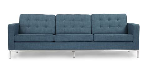 curacao sofas florence knoll style sofa 3 seat blue curacao vintage