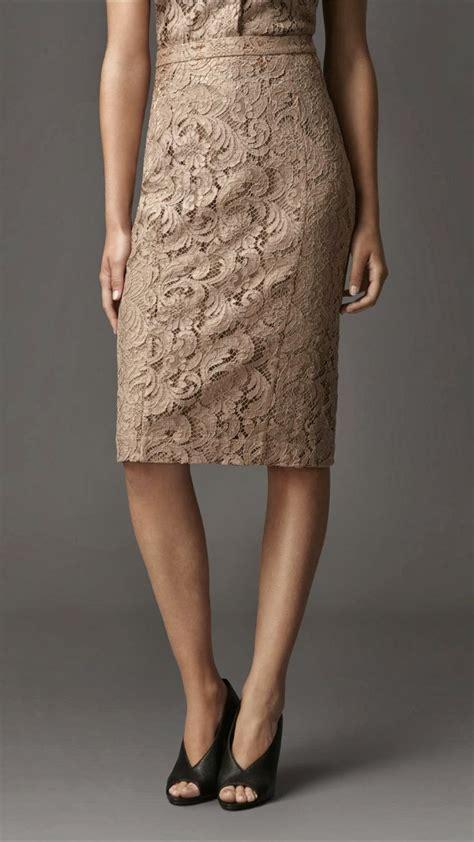 gorgeous lace pencil skirt fashion