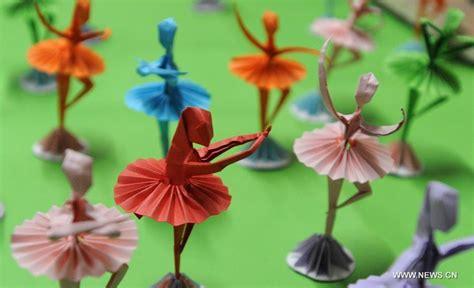 Origami Ballet Dancer - folk origami dancers 6 chinadaily cn
