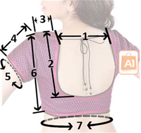 lehenga choli measurement form